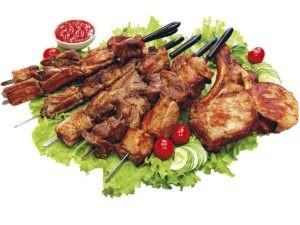 Блюда на мангале